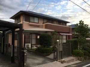 筑紫野市  K様邸 外壁屋根 塗装工事 完了
