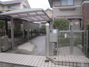 筑紫野市 K様邸 カーポート取替え工事  完了
