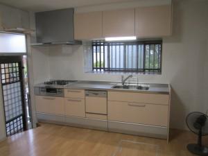 大野城市 リフォーム工事 S様邸 システムキッチン取替え工事 完了