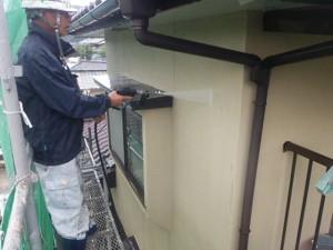 筑紫野市 塗装工事 H様邸 外壁塗装 高圧洗浄