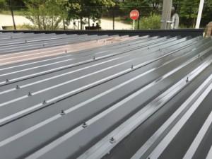 福岡市 中央区 塗装工事 S様邸 折半屋根 塗装 完了
