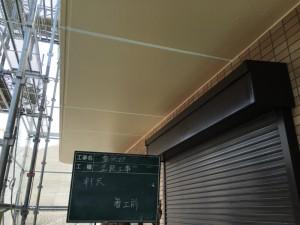福岡市 塗装工事 S様邸 軒裏天井 塗装 施工前