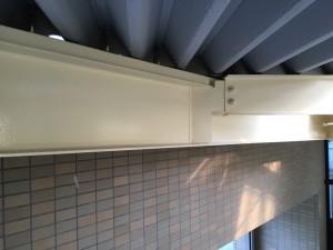 福岡市 塗装工事 S様邸 車庫鉄骨 塗装 完了