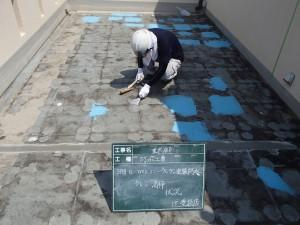 福岡市 中央区 S様邸 防水工事 ケレン清掃