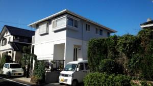 筑紫野市 塗装工事 S様邸 外壁 屋根 塗装工事 施工前