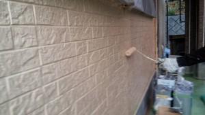 太宰府市 N様邸 塗装工事 外壁塗装 上塗り