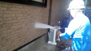 太宰府市 N様邸 塗装工事 外壁塗装 高圧洗浄
