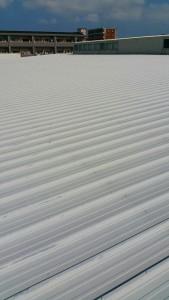 福岡市 東区 フクショク スーパー 屋根塗装工事 施工前