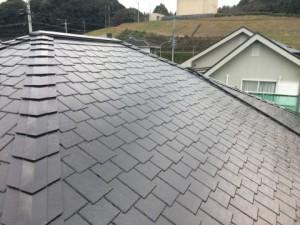 福岡県 基山町 M様邸 塗装工事 屋根 完了