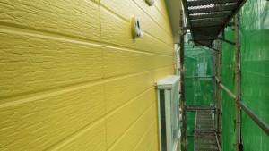 福岡県 塗装工事 篠栗アパート 外壁塗装 完了