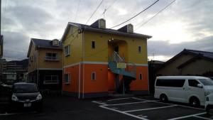 福岡県 塗装工事 サンシャイン篠栗D棟 完了
