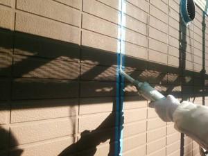 福岡県 粕屋郡 塗装工事 篠栗アパート シーリング工事 シール剤充填