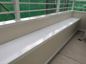 佐賀県 基山町 塗装工事 ベランダ花壇 完了