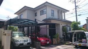 筑紫野市 外壁 屋根 塗装工事 T様邸 施工前