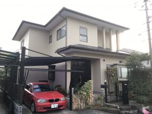 筑紫野市 外壁 屋根 塗装工事 T様邸 完了