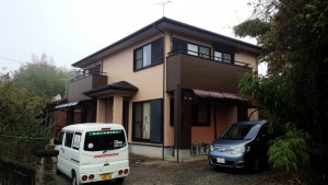 太宰府市 N様邸 塗装工事 住宅塗装 完了