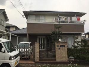 佐賀県 基山町 塗装工事 M様邸 全体塗装 完了
