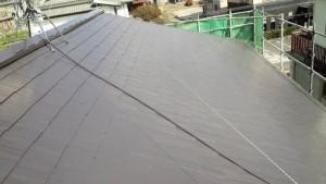 福岡県 粕屋町 アパート 塗装工事 屋根 塗装完了