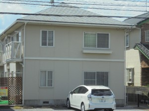 福岡県 粕屋町 アパート 塗装工事 施工前