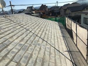 福岡県 粕屋町 アパート 塗装工事 屋根 施工前
