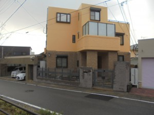 福岡市 中央区 S様邸 塗装工事 完了