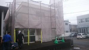 福岡県 那珂川町 日本地研 塗装工事 施工前