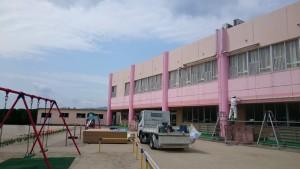 筑紫野市 幼稚園 外壁補修 塗装工事 完了
