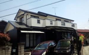 春日市 塗装工事 S様邸 外壁 屋根 塗装 完了