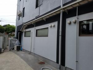 春日市 塗装工事 バジェットホテル 完了