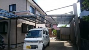 筑紫野市 N様邸 カーポート取付工事