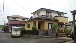 福岡県 八女市 N様邸 外壁 屋根 塗装工事 完了