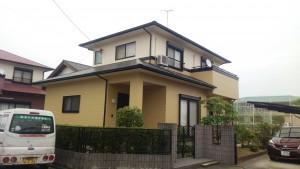 福岡県 筑後市 N様邸 外壁 屋根 塗装工事 完了