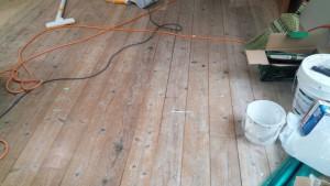 佐賀県 N様邸 内部塗装工事 床 施工前