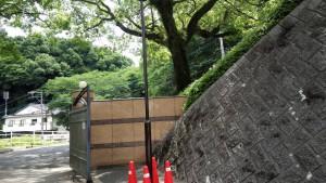 福岡県 太宰府市 筑紫女学園 外灯 塗装工事 完了