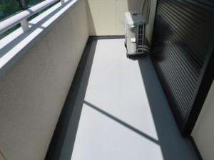 福岡県 N様邸 ベランダ 防水工事 完了
