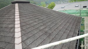 筑紫野市 屋根 塗装工事 施工前