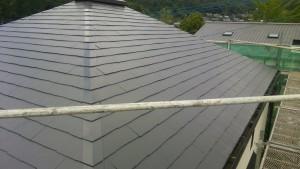 筑紫野市 屋根 塗装工事 完了