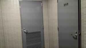 福岡市 鉄扉 塗装工事 完了