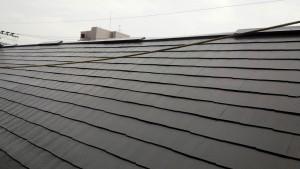 福岡市 西区 塗装工事 コビソル姪の浜 屋根 コロニアル スレート 塗装 完了