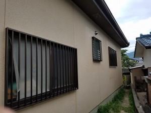 筑紫野市 塗装工事 モルタル補修箇所 塗装   完了