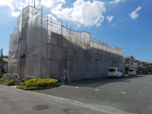 福岡県 糸島市 塗装工事 キリスト教会 改修工事 施工前