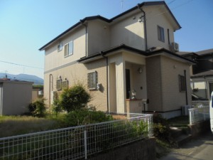 福岡県 筑紫野市 Y様邸 外壁 屋根 塗装工事 施工前