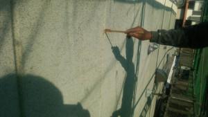 大野城市 A様 所有 テナント 塗装工事 ALC 外壁 シーリング工事 プライマー