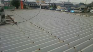 大野城市 A様 所有 テナント 塗装工事 屋根塗装 施工前