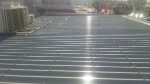 大野城市 A様 所有 テナント 塗装工事 板金 折半屋根塗装 完了