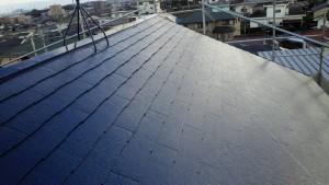 筑紫野市 S様邸 戸建て住宅 コロニアル屋根 塗装工事 ニッペ ファインパーフェクトベスト 塗装 完了