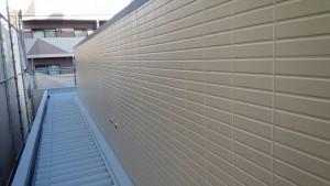 福岡県 福岡市 南区 アパート 塗装工事 ベルツ高宮 外壁下塗り 日本ペイント オーデフレッシュSi 上塗り 完了