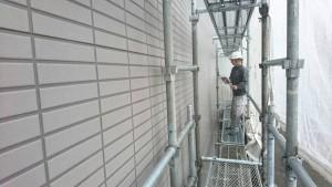 福岡市 南区 塗装工事 ベルツ高宮 高圧洗浄