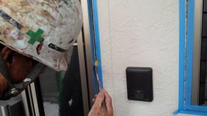 筑紫野市 戸建て住宅 塗装工事 サイディング外壁 シーリング打替え工事 プライマー