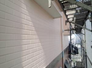 筑紫野市 H様邸 住宅 塗装工事 外壁 サイディング 塗装 完了